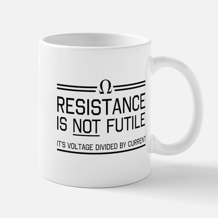 Resistance is not futile Mugs