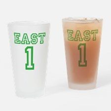 EAST #1 Drinking Glass