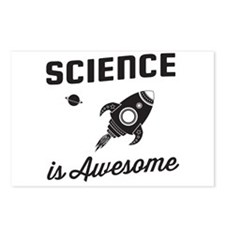 Science is awesome Postcards (Package of 8)