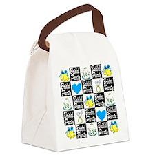 BLUE BRIDAL PARTY Canvas Lunch Bag