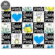 BLUE BRIDAL PARTY Puzzle