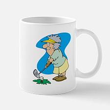 granny golfer Mugs