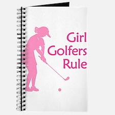 pink girl golfers rule Journal
