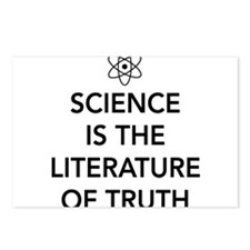 Science the literature of truth Postcards (Package