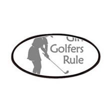 grey girl golfers rule Patches