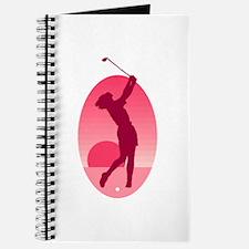 pink golf logo Journal