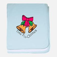Christmas Chimes baby blanket