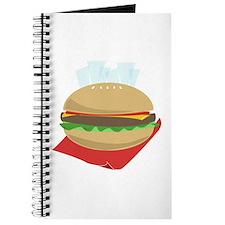 Hamburger And Fries Journal