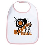 Grunge Basketball Bib