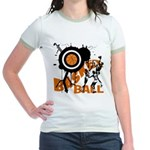 Grunge Basketball Jr. Ringer T-Shirt