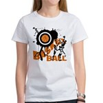 Grunge Basketball Women's T-Shirt