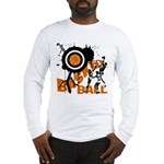 Grunge Basketball Long Sleeve T-Shirt