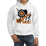 Grunge Basketball Hooded Sweatshirt