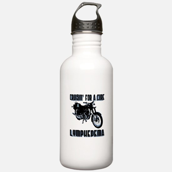 Lymphedema - Cruisin' For A Cure Water Bottle