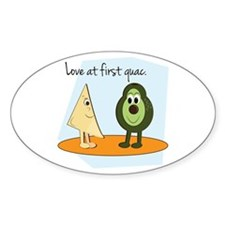 Love At First Guac. Decal