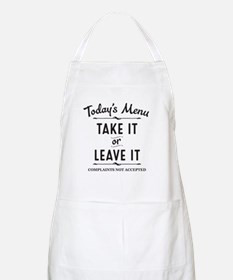 Cute Quotes Light Apron