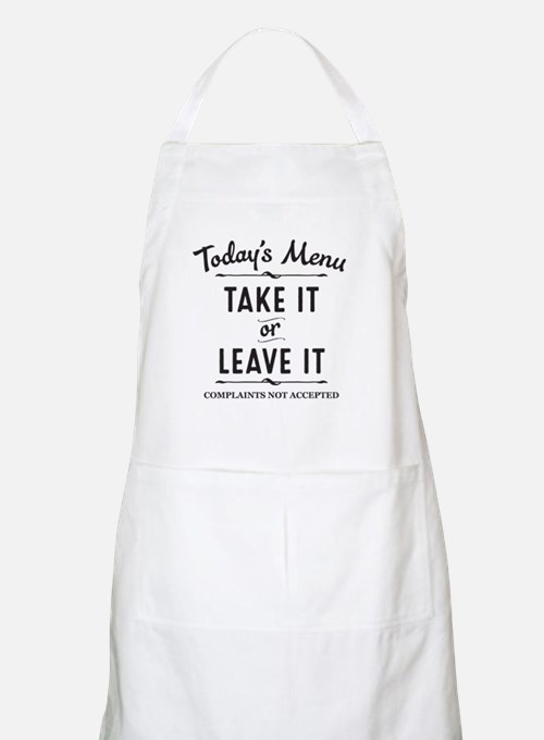 Cute Funny sayings for kids Light Apron