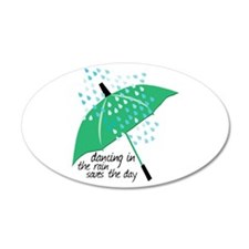 Dancing In The Rain Saves The Day Wall Decal