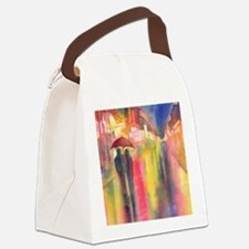 Funny Umbrella Canvas Lunch Bag