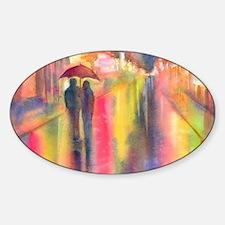 Unique Romantic Sticker (Oval)