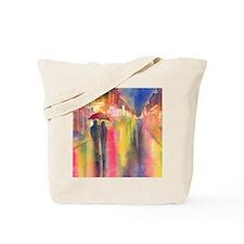 Cute Couples Tote Bag