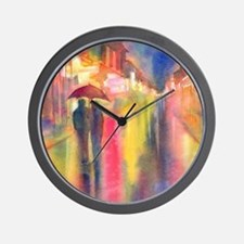 Unique Night lights Wall Clock