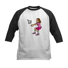 bump girl Baseball Jersey