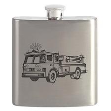 Fire Truck Flask