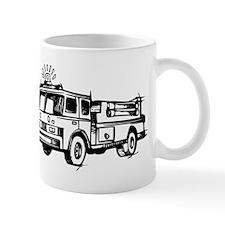 Fire Truck Mugs