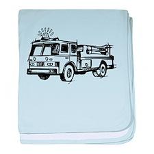 Fire Truck baby blanket