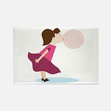 Bubble Gum Girl Magnets