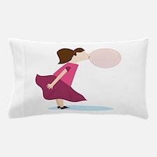 Bubble Gum Girl Pillow Case