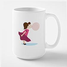 Bubble Gum Girl Mugs