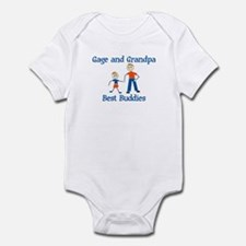 Gage & Grandpa - Best Buddies Infant Bodysuit