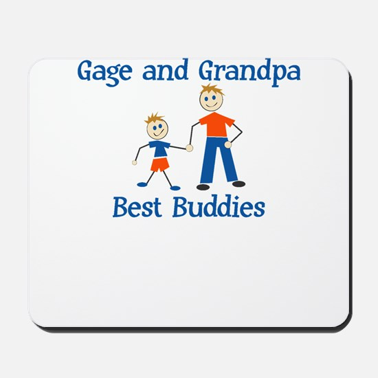 Gage & Grandpa - Best Buddies Mousepad