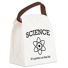 Science this far Canvas Lunch Bag