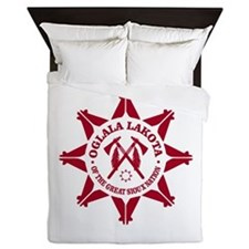 Oglala Lakota Queen Duvet