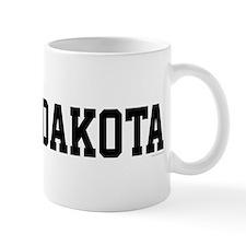 North Dakota Jersey Black Mug
