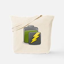 Charging Battery Tote Bag