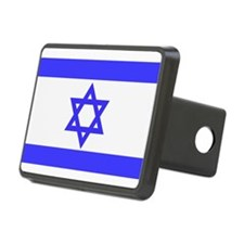 Flag Of Isreal Hitch Cover