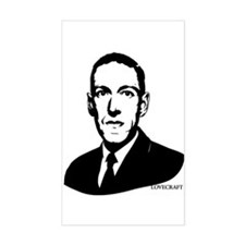 Strk3 H.P. Lovecraft Rectangle Decal