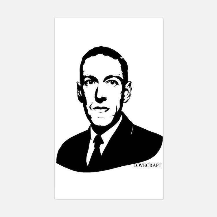 Strk3 H.P. Lovecraft Rectangle Decal
