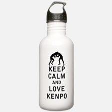Keep Calm and Love Kenpo Water Bottle