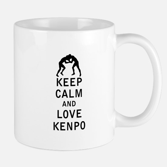 Keep Calm and Love Kenpo Mugs