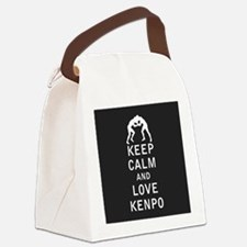 Keep Calm and Love Kenpo Canvas Lunch Bag