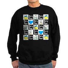 BLUE MAID OF HONOR Sweatshirt