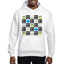 BLUE MAID OF HONOR Hoodie Sweatshirt