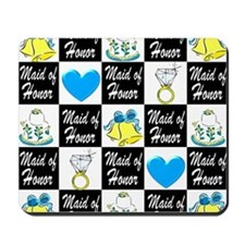 BLUE MAID OF HONOR Mousepad