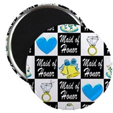 BLUE MAID OF HONOR Magnet