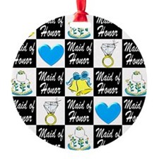 BLUE MAID OF HONOR Ornament